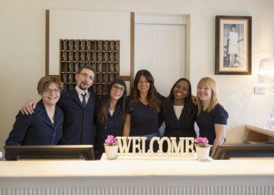 Benvenuti all'Hotel Italia