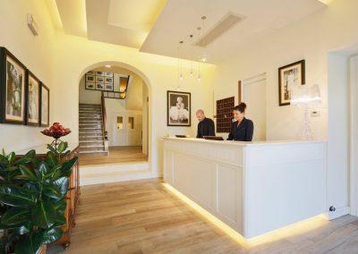 HOTEL ITALIA SIENA RECEPTION