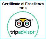 Tripadvisor - Certificato di Eccellenza 2017