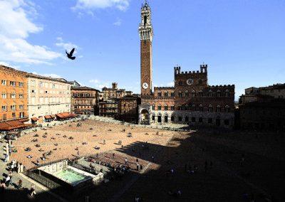 Piazza del Campo Sienne