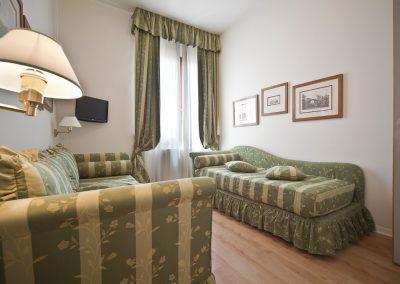 Junior Suite, Salottino