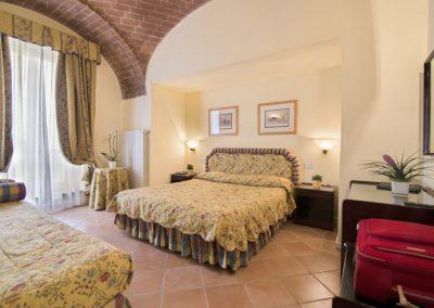 Vierbettzimmer mit Bögen, Dependance